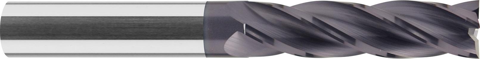 Frez trzpieniowy bardzo długi, Z-4, HB, VHM TiALN, (504)