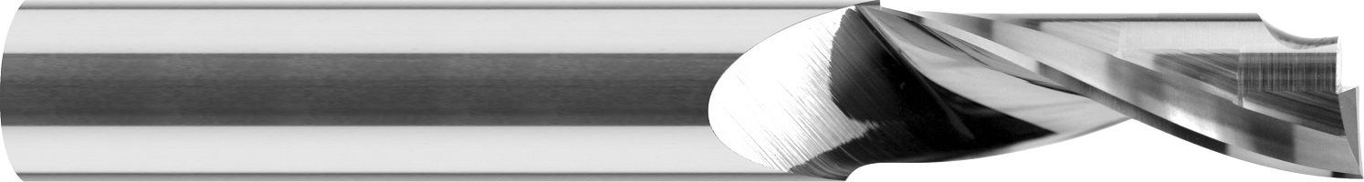Frez 1-ostrze, HSC, ALUMINIUM, TWORZYWA, VHM bez pokrycia (510)