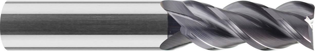 Frez trzpieniowy, Z-3, do aluminium, VHM DLC (602)