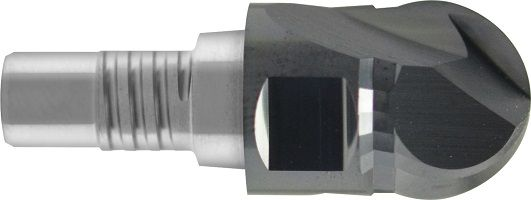 Frez nakręcany, modułowy, INOSCREW, Z-2, kula 220°, HSC, 65 HRC, VHM ALTiN (804)