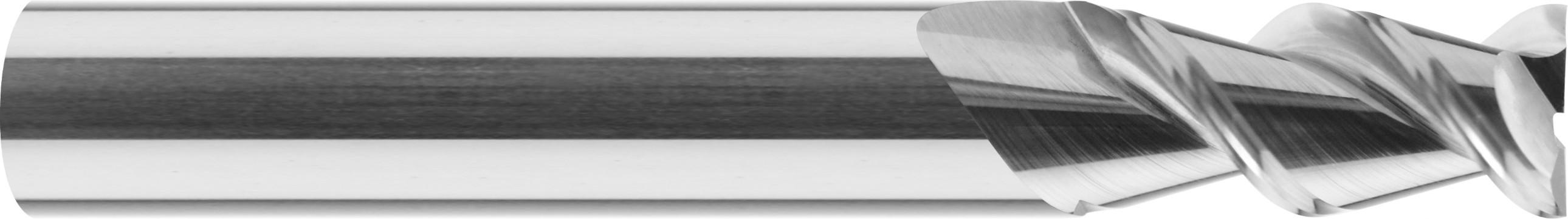 Frez, długi, Z-2, HA, HB, polerowany, ALUMINIUM, TWORZYWA, VHM bez pokrycia (608)