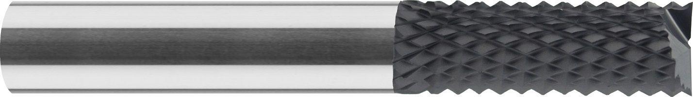 Frez, HSC, do rowków, płaski, wykańczający, do grafitu, ostrze na czole, VHM DIAMENT (613)
