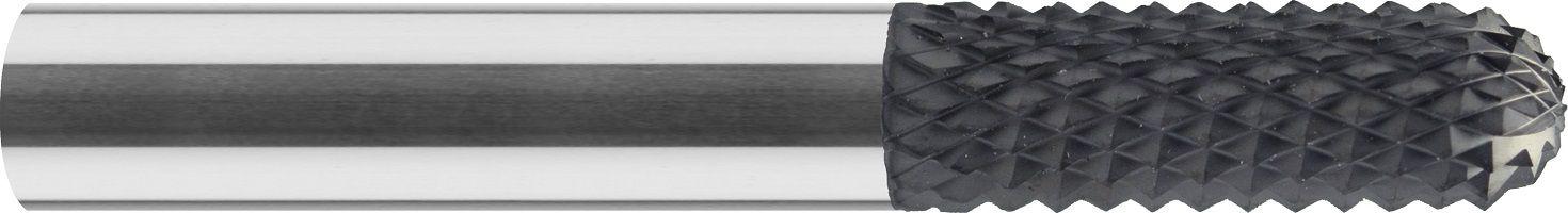 Frez do rowków do grafitu, HSC, wykańczający, zakończenie kula, VHM DIAMENT (616)