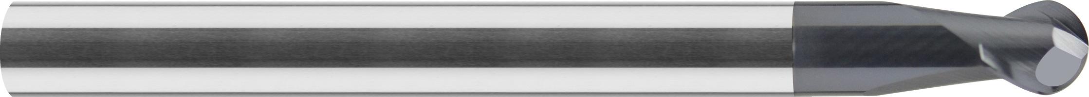 Minifrez, kulowy, Z-2, HA, z obniżeniem, HSC, 65 HRC VHM ALTiN (449)