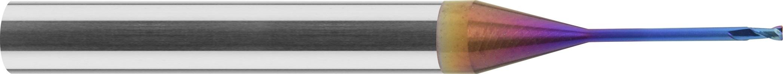 Minifrez do kopiowania, promień naroża, Z-2, HA, HSC, 65 HRC, PrimeLine VHM NACO BLUE (452)