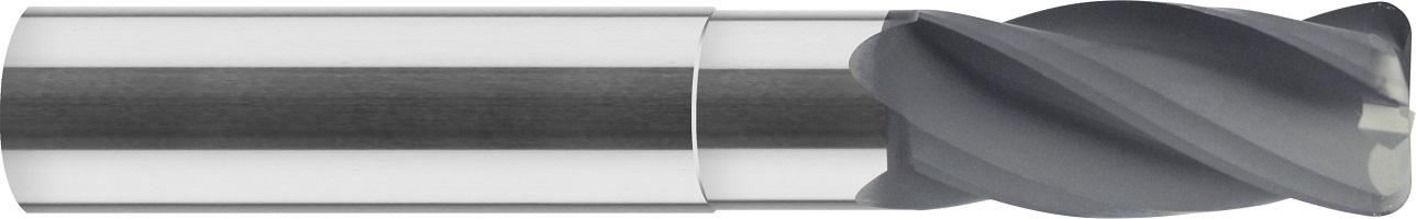 Frez do kopiowania, promień naroża, z-4, grafit , tworzywa, VHM diament (640)