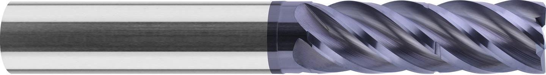 Frez trzpieniowy, do stali, faza naroża, Z-5, HB, 55 HRC, INOX, TSC, 1-WYBÓR, VHM VAROCON (456)