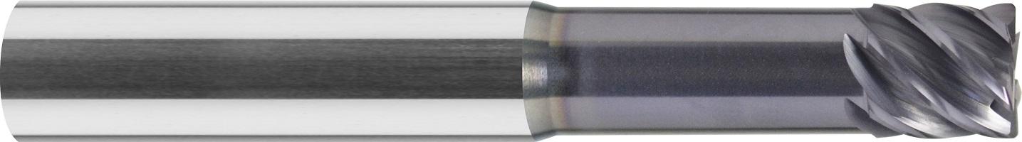 Frez do kopiowania, promień naroża, Z-4>6, HA, HSC, 65 HRC, Multicut, VHM TiALN (465)