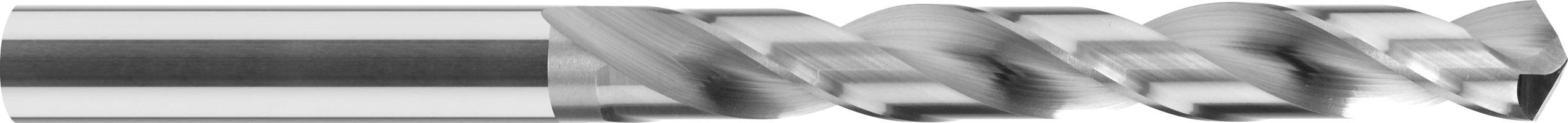 Wiertło kręte krótkie, uniwersalne, VHM bez pokrycia (111)