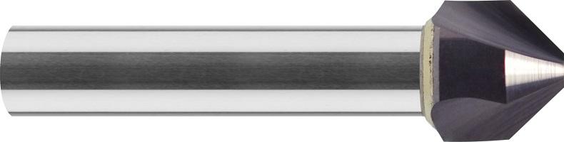 Pogłębiacz stożkowy, 90°, Z-3, 55 HRC, INOX, TYTAN, VHM TiALN (710)
