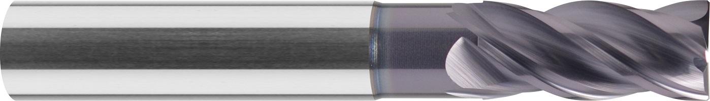 Frez trzpieniowy, długi, faza naroża, 35/38°, Z-4, HPC, INOX, TYTAN, VHM VAROCON (407)