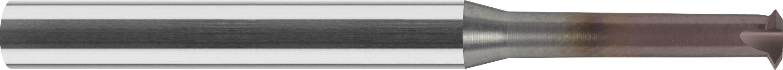 MiniFrez do gwintów wewnętrznych,bardzo krótki, M-2>M-6, calowych UNC i UNF, 65 HRC, INCONEL, INOX VHM TiALCN (724)